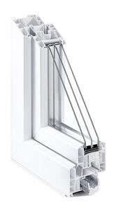 окна ПВХ REHAU GENEO (Рехау Генео) - белый профиль