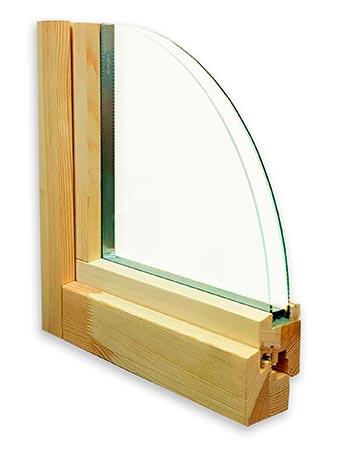 окно цена эконом из дерева
